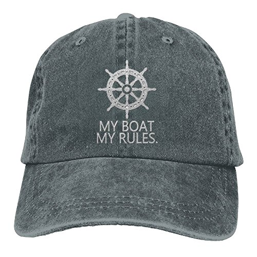 Pants New My Boat My Rules Adult Embroidered Cowboy Hat Sports Hat (Baby Kostüme Am Ziel)