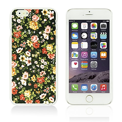OBiDi - Flower Pattern Hardback Case / Housse pour Apple iPhone 6 Plus / 6S Plus (5.5)Smartphone - Multicolor Floral Shapes Spring Flower