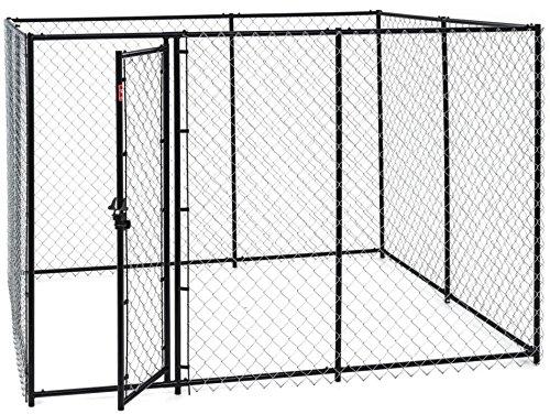 #Zwinger für größere Hunde (L 190 x B 240 x H 122 cm) – Hundezwinger mit Dach#