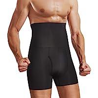 Chumian Mutande Uomo Vita Alta Compressione Boxer Slip Controllo Pancia Dimagranti Shapewear Pantaloncini