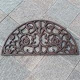 SLH Europäische Retro Fußauflage Fußmatte Villa Garten Hof Vordere Dekoration Bodenmatte