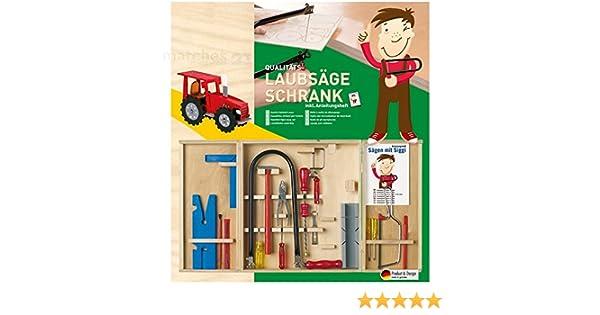 Kinder Werkzeugkasten Laubsäge-Set 20-tlg Bau- & Konstruktionsspielzeug-Sets Kinderwerkzeug Anleitung