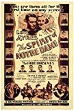 The Spirit of Notre Dame Movie Poster (68,58 x 101,60 cm)