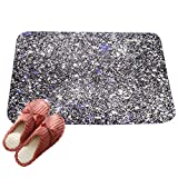 LvRaoo Fußabtreter Mandala Blumendruck Rutschfest Sauberlaufmatte Fußabstreifer Teppiche Läufer für Außen und Innen (# 7, 60*40cm)