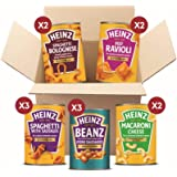 Heinz Quick Meals Variety Bundle, Beans and Pasta 400 g, 12 Cans