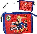 alles-meine.de GmbH Kosmetiktasche / Waschtasche -  Feuerwehrmann Sam Jones  - Kinder & Baby / ..