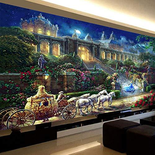 CULASIGN DIY 5D Diamant Malerei Full Diamond Kristall Strass Stickerei Bilder Wohnzimmer Dekor Wand Aufkleber (90x180cm)