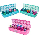 HATCHIMALS 6047215 CollEGGtibles, Season 6, Jewellery Box Royal Dozen 12-pack Egg Carton with 2 Exclusive HATCHIMALS, Assorted Multicolour