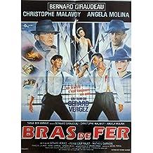 Brazo de hierro Póster de película, 40 x 60 cm-1985-Bernard Giraudeau