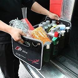 buy-buy-buy Audi Kofferraum-Tasche   PKW-Klapp-Box Ideal als Faltbox-Einkaufskorb & Auto-Organizer
