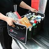 buy-buy-buy Audi Kofferraum-Tasche | PKW-Klapp-Box Ideal als Faltbox-Einkaufskorb & Auto-Organizer