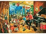 Heidi heidi4643Cross Roads Musik-Shops Art Puzzle (1500Teile)