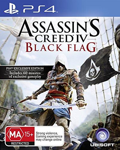 Assassins Creed IV: Black Flag (PS4) [Edizione: Regno Unito]