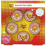 Offizielle Chupa Chups Duftkerzen Teelichter 5er-Set