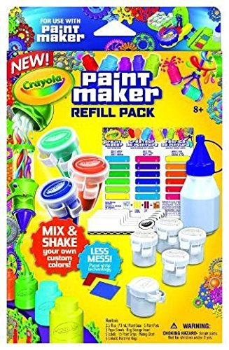 Crayola 74-7081 -  set ricarica laboratorio delle tempere