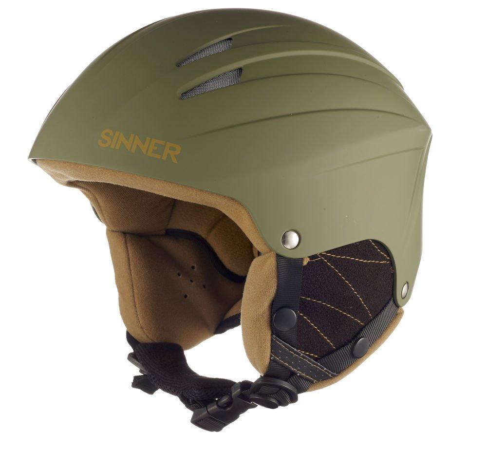 Sinner Empire Air - Casco, verde (Matt Moss), M