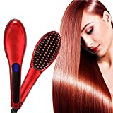Ceramic Electric Hair Straightener Brush...