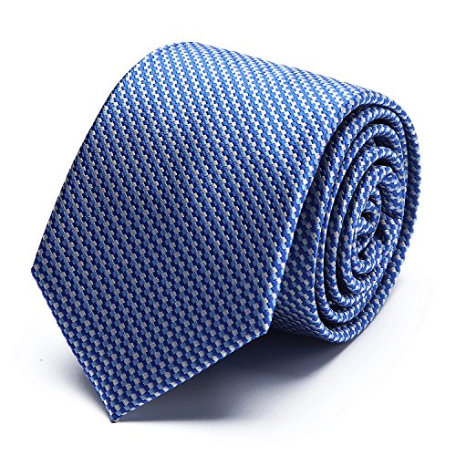 Men's Vogue High Quality Polyester Silk Weave Tie For Wedding Party Casual & Business Wear