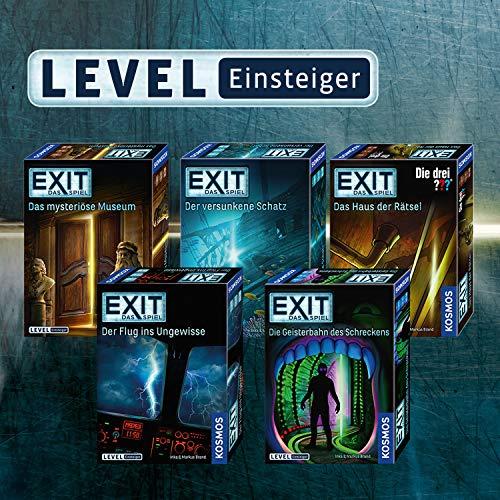 """KOSMOS Spiele 694043 -"""" EXIT – Spiel: drei ??? – Haus Rätsel"""" Brettspiel - 4"""