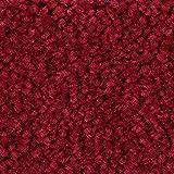 Teppichboden Auslegware Meterware Hochflor Shaggy Langflor Velour rot 400 und 500 cm breit, verschiedene Längen