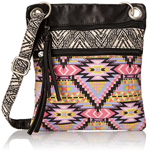 twig-arrow-passport-cross-body-bag-damen-mehrfarbig
