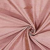 Fabulous Fabrics Dupionseide Stoff Schimmer – Altrosa —