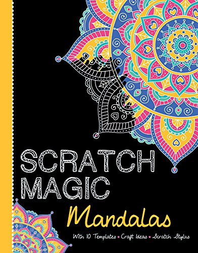 Mandalas: With 10 Templates, Craft Ideas, and Scratch Stylus (Scratch Magic) por Barrons Educational Series Inc.