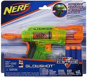 Nerf - Lanzadardos Glowshot Elite (Hasbro B4615EU4)
