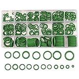Para el kit de herramientas manuales para aire acondicionado automotriz, junta tórica/sello/arandela verde 270PC
