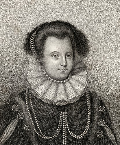 Ken Welsh / Design Pics - Lady Margaret Russell Countess Of Cumberland 1560-1616 Engraved By Bocquet From The Book A Catalogue Of Royal And Noble Authors Volume Ii Published 1806 Photo Print (33,02 x 40,64 cm) -