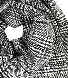 Drykorn Herren Wollschal Livid mit Glencheckmuster grau Test