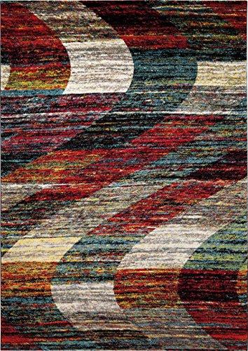 wecon home Arabian Sands Moderner Markenteppich Polypropylen Mehrfarbig 170 x 120 x 1.3 cm
