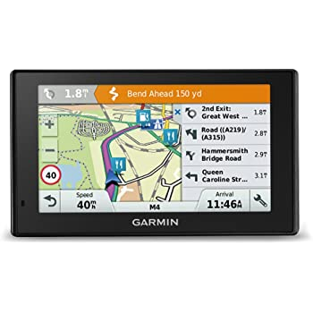 Garmin 010-01682-13 DriveAssist 51LMT-D 5 Inch Sat Nav with Built-In Dash Cam, Lifetime Map Updates for UK, Ireland and Full Europe, Digital Traffic and Wi-Fi - Black