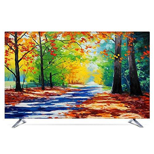 NACHEN Fernseher Abdeckung Für Innenanwendung Staub Und Wasserfest TV Schutz Für HDTV, LCD, LED Und Plasma Schutzhülle,Color5,55 55 Lcd-hdtv