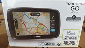 Tomtom Go 5000 Refurb Edition Life Time Maps Traffic Computers Accessories