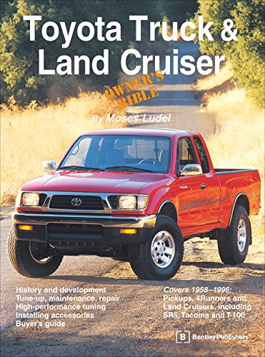Toyota Land Cruiser Owners Manual (Toyota Truck and Land Cruiser Owner's Bible)