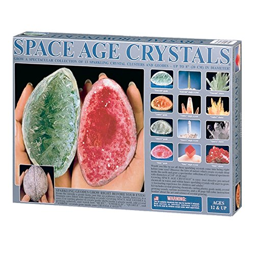 owing Kit: 13 Crystals- (Space Age Crystal Growing Kit)