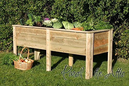 Vegetable troughs How deep should a raised garden bed be