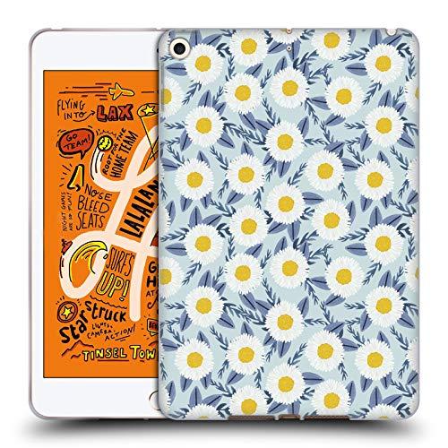 Charlottes Garten (Head Case Designs Offizielle Charlotte Winter Gänseblümchen Garten Blau Blumig Soft Gel Huelle kompatibel mit iPad Mini (2019))
