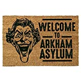 Batman - Welcome to Arkham Asylum - Fußmatte - Offizielles Merchandise   Türmatte aus Kokos und Kunststoff in Braun