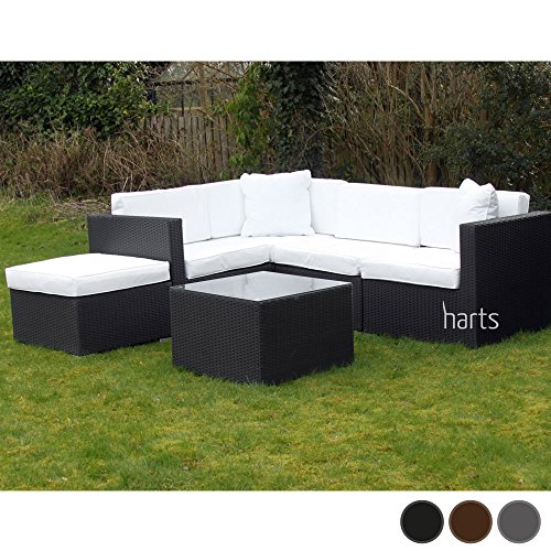 roe gardens outdoor premium modular rattan corner sofa - Garden Furniture Corner Sofa