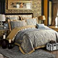 Zangge Bedding Luxury Satin Jacquard Bedding Sets produced by Zangge Bedding - quick delivery from UK.