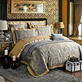 Zangge Bedding Luxury Satin Jacquard Paisley Bedding Sets - Best Reviews Guide
