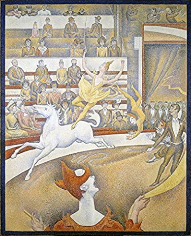 Georges Seurat - The Circus - Extra Large - Semi Gloss Print