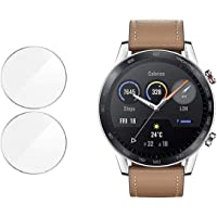M.G.R.J® Tempered Glass Screen Protector for Honor MagicWatch 2 (46mm) (Pack of 2)
