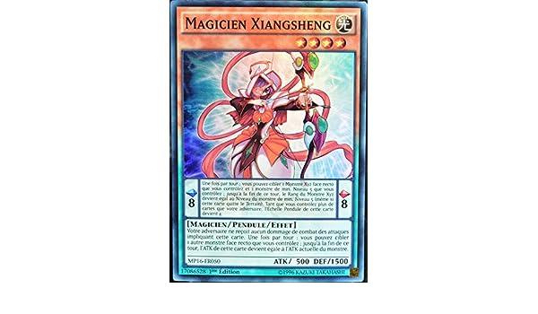 carte Yu-Gi-Oh MP16-FR050 Magicien Xiangsheng