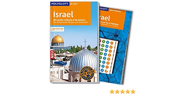 Polyglott On Tour Reiseführer Israel Mit Großer Faltkarte 80