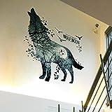 ALLDOLWEGE El arte de pared autoadhesivas creativas pegatinas fondo sofá Dormitorio Sala de...