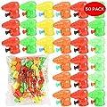 THE TWIDDLERS Pack DE 50 Mini Pistolas de Agua - Colores Variados - Perfecto para Rellenos de Bolsas de Fiesta y Detalles de THE TWIDDLERS
