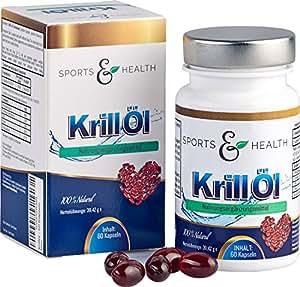 Omega 3 Krillöl Fettsäuren - 60 Hochdosierte Kapseln - 1500mg Superba® KrillÖl Tagesdosierung durch 3 Kapseln am Tag - EPA DHA - Gesund fürs Herz - Mit Astaxanthin